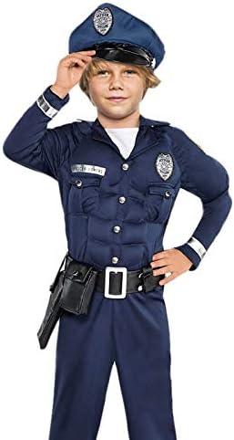 Disfraz Policía Musculoso Niño (3-4 años) (+ Tallas) Carnaval ...