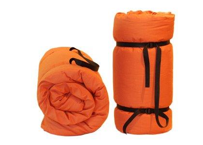 Futon portable Orange 80x200x4 cm