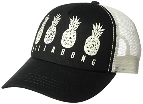 Billabong Women's Aloha Forever Trucker Hat Black/Vanilla One Size