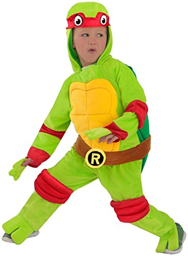 Princess Paradise Baby Boys' Raphael Jumpsuit Deluxe Costume, As Shown, (Ninja Turtle Raphael Toddler Costume)