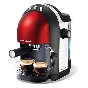 Morphy Richards Meno 47586 Espresso M47586EE acentos rojos 1000 W