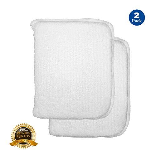 Stella Sealants Professional Sealer Applicator Pad (2 Pack) - for Marble Granite Stone Travertine Countertop Shower Tile and Grout (Improved) (Best Travertine Tile Sealer)
