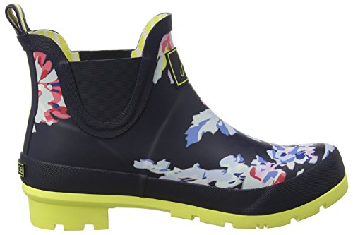 Joules Womens Wellibob Botte De Pluie Marine Whitstable Floral