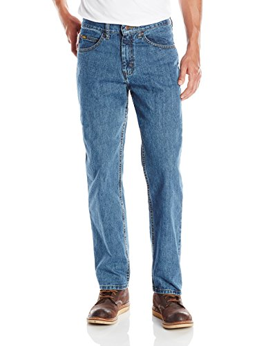 Lee One Button Jeans - Lee Men's Relaxed Fit Straight Leg Jean, Newman, 38W x 34L