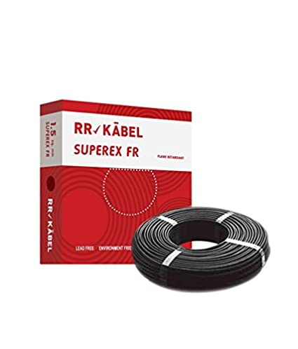 Rr Kabel Superex Fr Pvc Insulated Single Core Wire 1.5 Sq.Mm