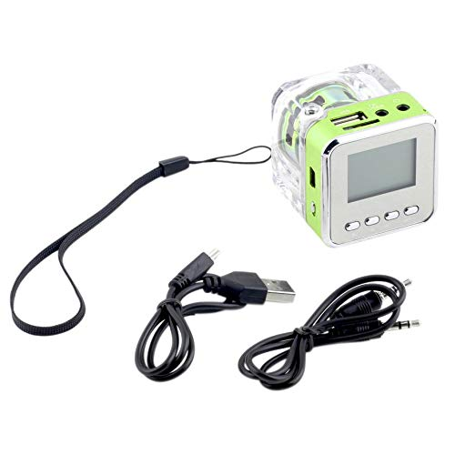 Mini Altavoz LCD HiFi Música MP3 / 4 Reproductor Tarjeta TF Disco ...