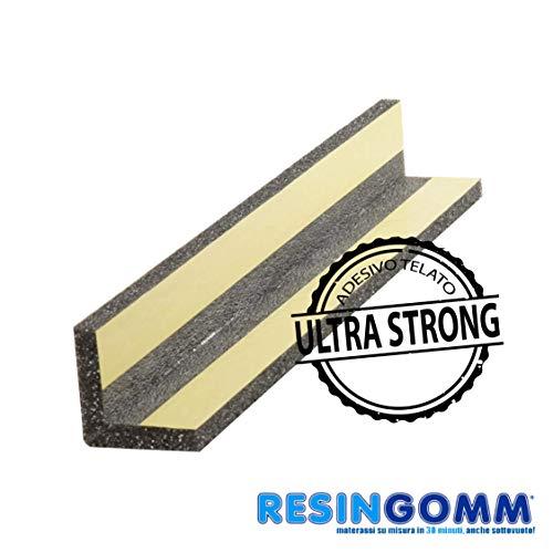 Protección de alta densidad para ángulos, 100 cm de altura, para esquinas de columnas o paredes de cocheras, parqueaderos y garajesAplicación con pegamento ...
