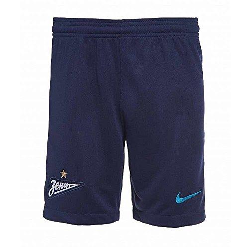 2017-2018 Zenit Nike Home Shorts (binary Blue) Azul Marino
