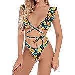 Yuson-Girl-Ruffle-Floral-Bandeau-Bikini-Halter-Bikini-Donna-Vita-Alta-Costume-da-Bagno-Bikini-a-Due-Pezzi-Mare-Bandage-Push-Up-Top-High-Waisted-Bottom-Thong