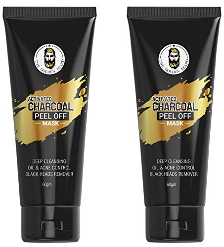 Activated CharCoal Peel Off Mask   Deep skin cleansing Mask 60Gm [Pack of 2]