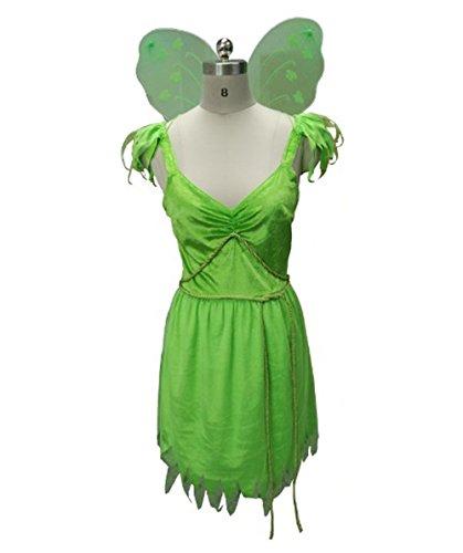 Tiny Fairy Costume, Green Adult (L) HC-039