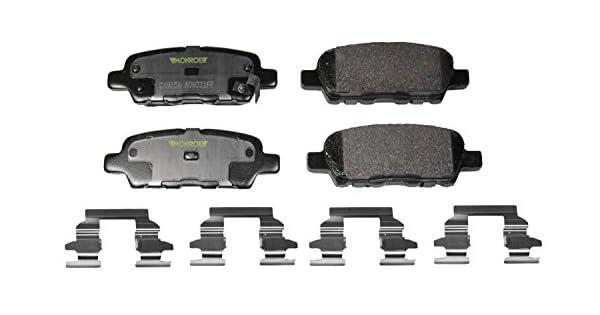Disc Brake Pad Set Rear Monroe CX1377