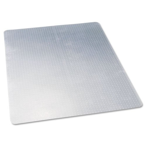 deflecto CM11442F 46 x 60 Clear EconoMat Occasional Use Chair Mat for Low Pile