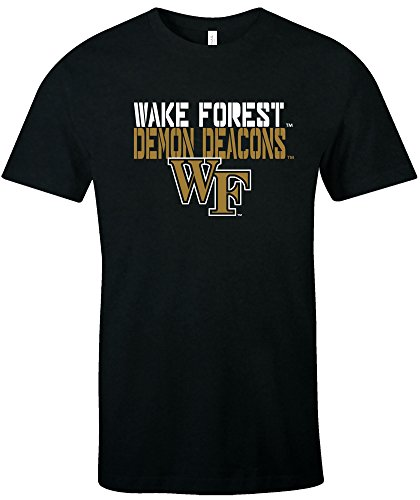 NCAA Wake Forest Demon Deacons Est Stack Jersey Short for sale  Delivered anywhere in USA
