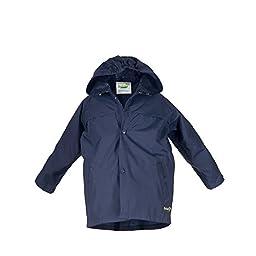 Splashy Children\'s Rain Jacket (5/6, Navy)