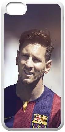 Coque iPhone 5C Téléphone Coque Blanc Hf Lionel Messi Barca Sports ...