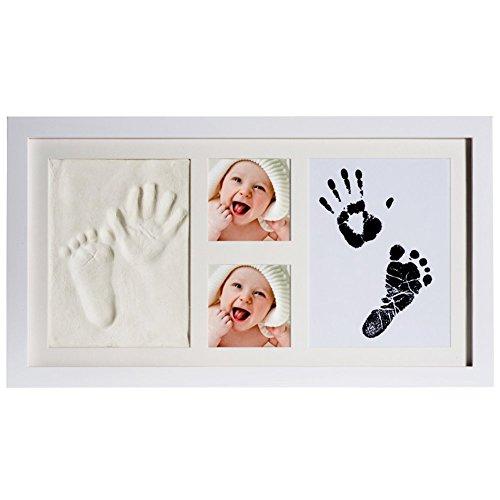 hot sale 2017 Elsatsang Baby 2D & 3D Handprint and Footprint Photo ...