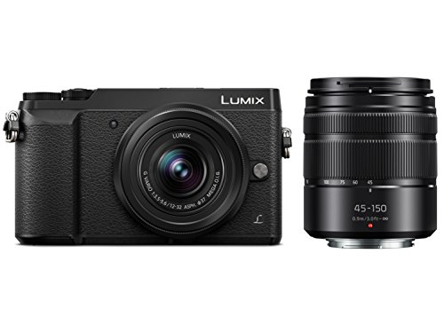 Panasonic DMC-GX85KK  Camera and H-FS45150AK Lens Bundle