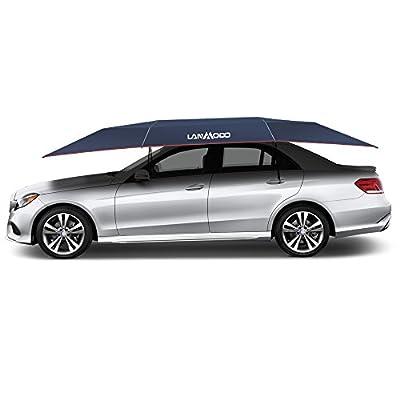 LANMODO Pro Car Tent Movable Carport Folded