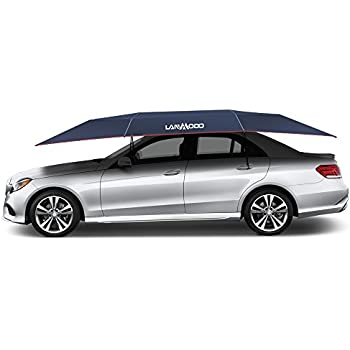 LANMODO Car Tent, Portable Automatic Car Umbrella Tent Remote Control with  Anti-UV,Water-Resistant,Proof Wind,Snow,Storm, Hail, Falling Objects