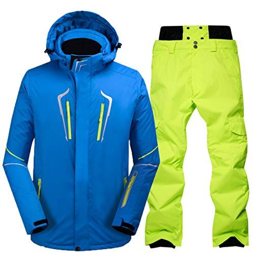 Da Size color Sci Pantaloni Calda M Uomo 01 Jiuyizhe Tuta 02 Invernale Per wqEBCv