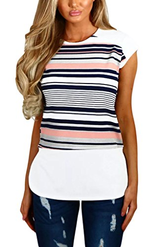 annflat-womens-color-block-striped-short-sleeve-t-shirt-casual-blosue-tops-xx-large-black-and-white