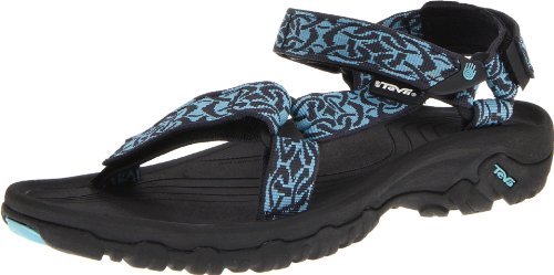 Teva Womens Hurricane XLT Sandal, Hazel Black, 9 US Celtic Aqua