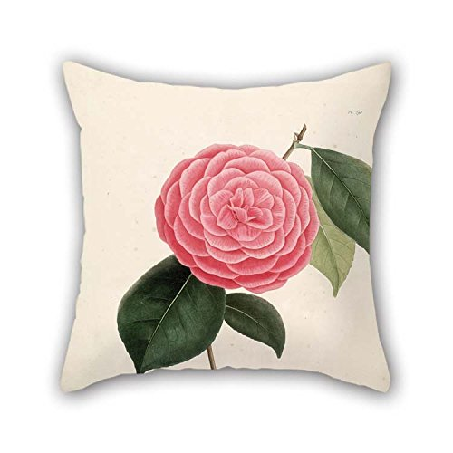 16 X 16 inches / 40 by 40 cm Flower Pillow Cases Both Sides is Fit for Kids Room Deck Chair Car Seat Divan Her Teens -