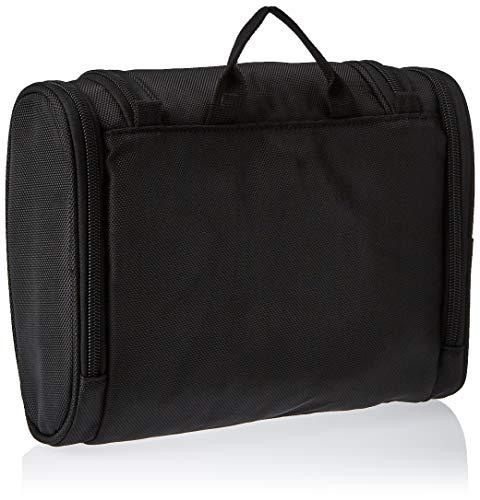 41U9OD4HqrL - AmazonBasics Hanging Travel Toiletry Kit Bag - Black