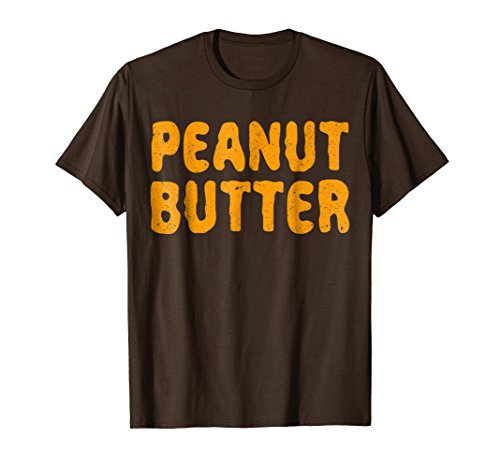 Mens Peanut Butter T-Shirt Matching Halloween Costume Large