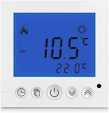 Digital Thermostat Raumthermostat Fußbodenheizung Wandheizung mit Anzeige