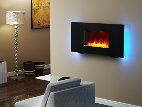 Puraflame 36 Quot Galena Portable Or Wall Mounted Flat Panel