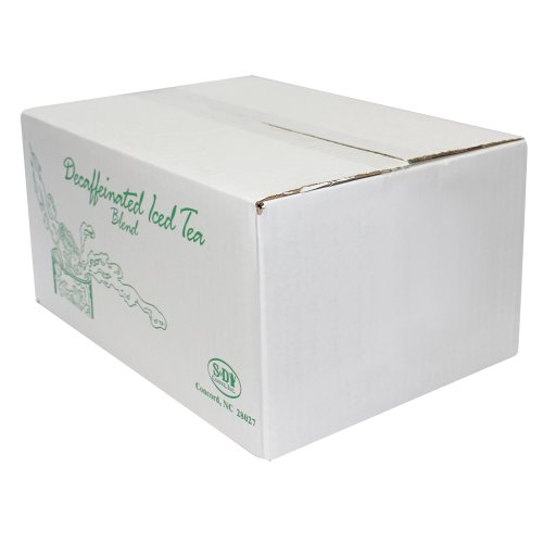 Decaffeinated Iced Tea, 48 1 Gallon Packs