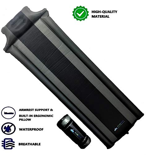 IFORREST Armrest - Ultra Comfortable Air Mattress is for Camping Hiking, Tent &