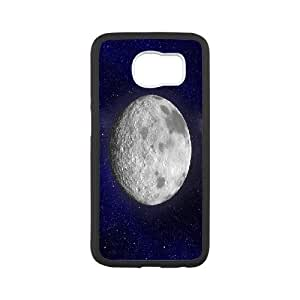 [Moon] Moon Cases for Samsung Galaxy S6, Samsung Galaxy S6 Case {White}