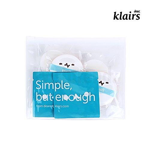 [KLAIRS] Mochi BB Cushion Refill Kit, 2 refill pouch, 2 sponges, 2 puffs