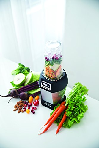SharkNinja BL456 Blenders-Countertop, 24 oz. Silver/Black