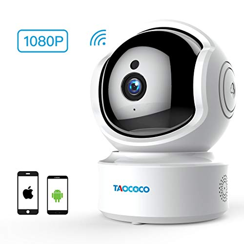 Baby Monitor,Taococo Wireless Security Baby Camera 1080P WiFi IP Camera Surveillance Home Pet Camera,Two Way Talking, HD Night Vision, Motion Tracker, Remote Monitor for Baby//Pet/Elder/Nanny Monitor