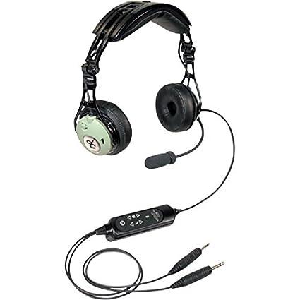 12a8814c8ea Amazon.com  David Clark DC PRO-X Hybrid Electronic Noise-Cancelling Aviation  Headset  GPS   Navigation