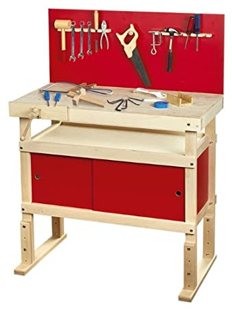 large children kids super tool play set by leomark young carpenters