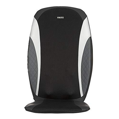 HoMedics 8-Node Shiatsu Massage Cushion - Vibration Massager with Heat & Programmed Controller