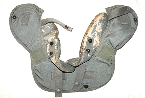 Genuine Us Military Acu Body Armor Yoke & Collar Protector - Medium
