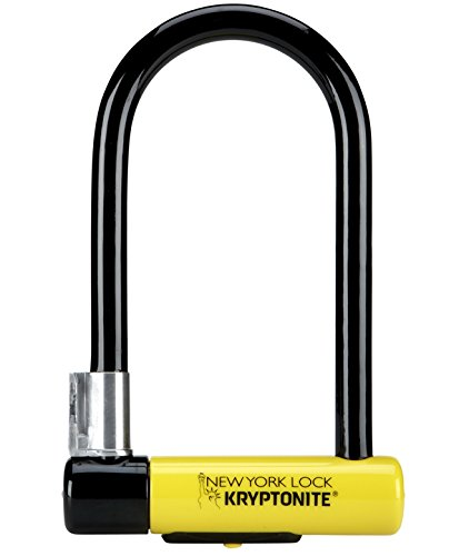 Kryptonite New-U New York Standard Heavy Duty Bicycle U Lock Bike Lock