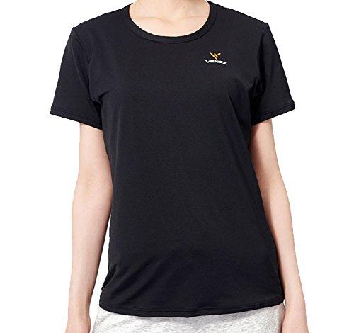 VENEX (ベネクス) リカバリーウェア リフレッシュTシャツ レディース 部屋着 半袖 Tシャツ インナー パジャマ 疲れとり 疲労回復 快眠 安眠 B0147XUO4M Small