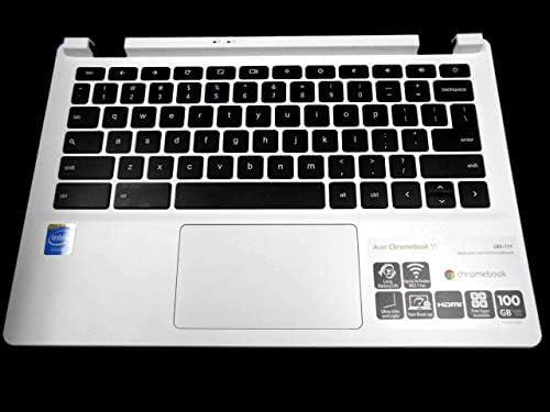 PTK純正 Acer Chromebook 11 CB3-111用 パームレストタッチパッドとキーボード EAZHQ003010 60MQN7030