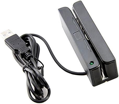 MSR90 3 Tracks Magnetic Credit Card Reader Stripe Swipe Magstripe Scanner US