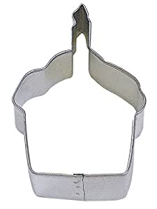 "R&M Cupcake 3.5"" Cookie Cutter in Durable, Economical, Tinplated Steel"