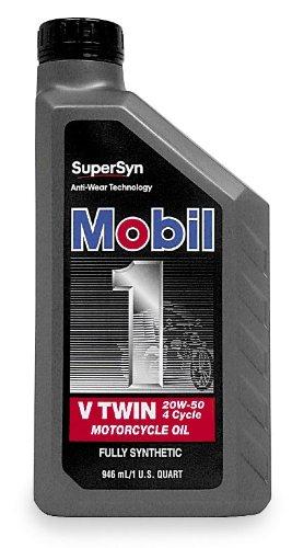 Mobil1 Supersyn V-Twin - 20W50 - 1qt. 98HC76 (Mobil 1 Supersyn European Car Formula 0w 40)