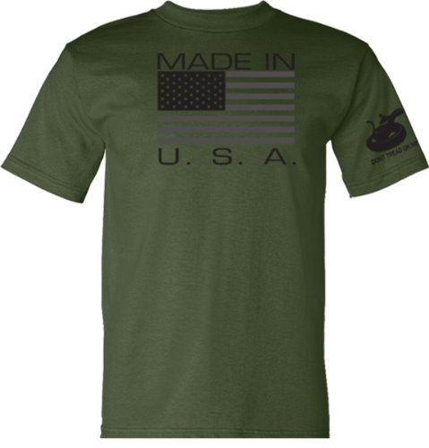 Made USA T Shirt Military Green product image