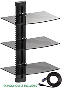 Lovely Jestik Wall Mount Shelf   Floating Shelf, TV Shelf, Media Shelf   Easy  Mounting Solution   Adjustable Shelves For DVD Players, Cable Boxes, Games  Consoles, ...